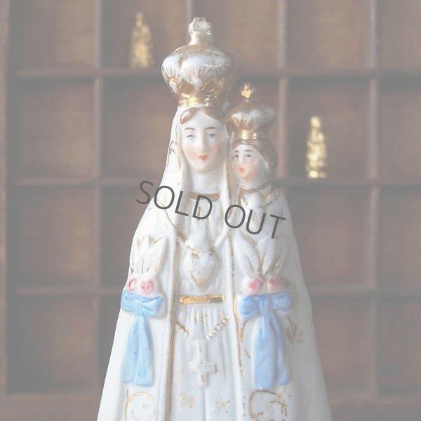 画像1: 白磁の聖母子像