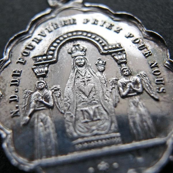 画像1: フルヴィエールの聖母のシルバーメダイ