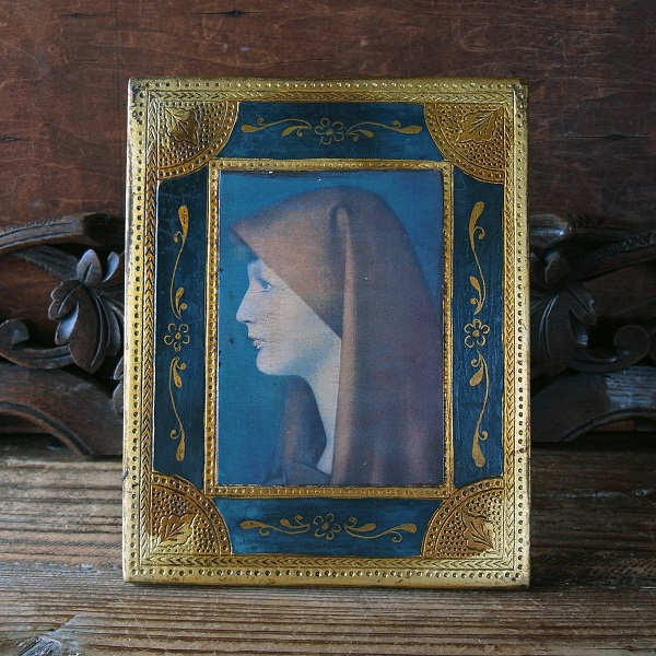 画像1: 聖ファビオラの板絵