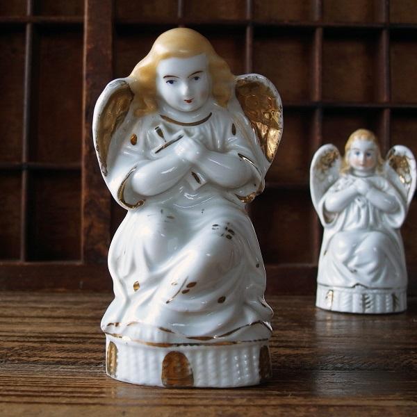 画像1: 白磁の天使像a