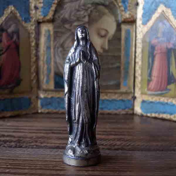画像1: 小さな聖母マリア像a