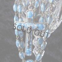 透明樹脂のアンティークロザリオ