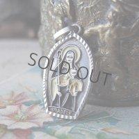 聖アデルと聖母のヴィンテージメダイ