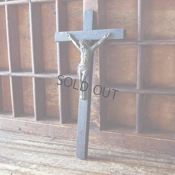画像1: 木製十字架