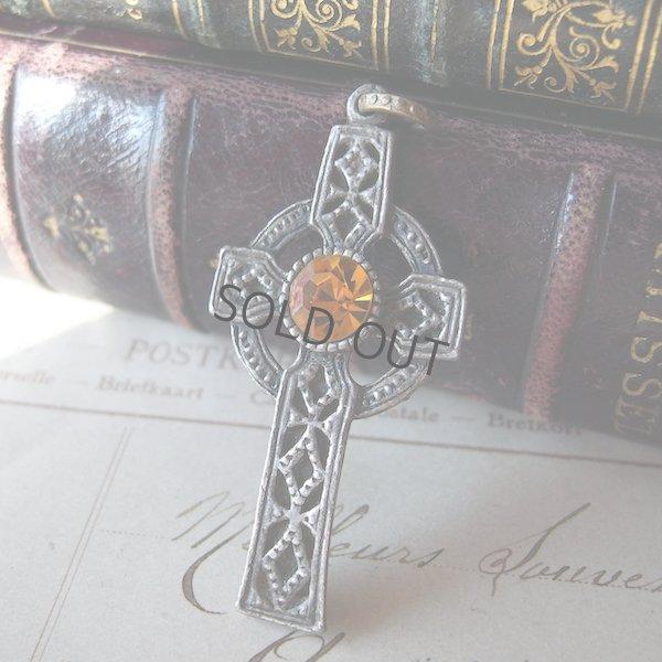 画像1: ケルト十字のペンダント