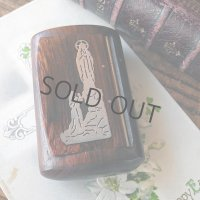 ルルドの聖母の木製ミニケース