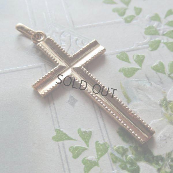 画像1: GOLD PLATEのクロス(ORIA)