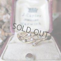 9金×ダイヤモンドのリング