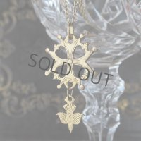 金鍍金のユグノー十字(ORIA)