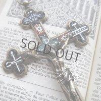 キリストの受難具のローマンモザイククロス