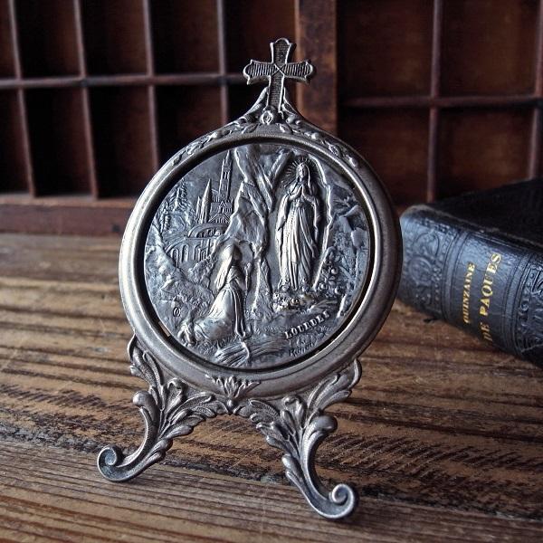 画像1: ルルドの聖母の盾(Ruffony作)
