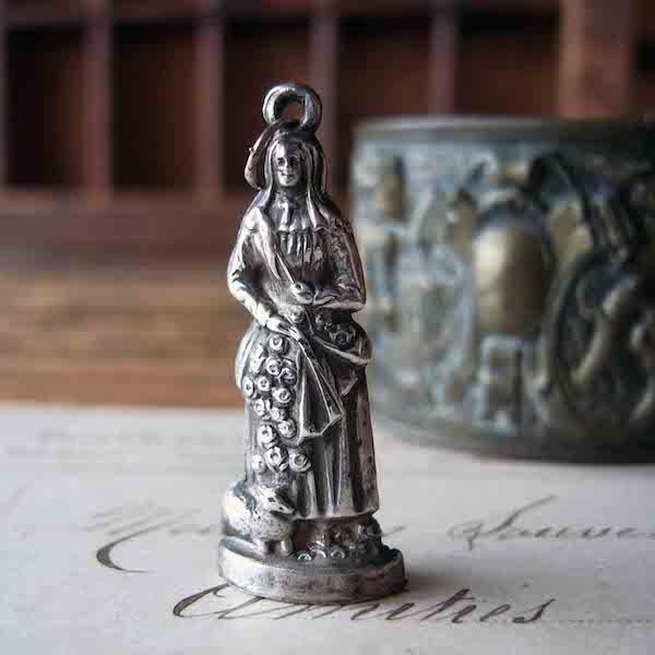 画像1: 聖ジェルメーヌのペンダント(シルバー)