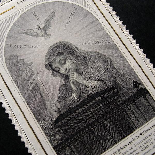 画像1: 祈る少女のカニヴェ