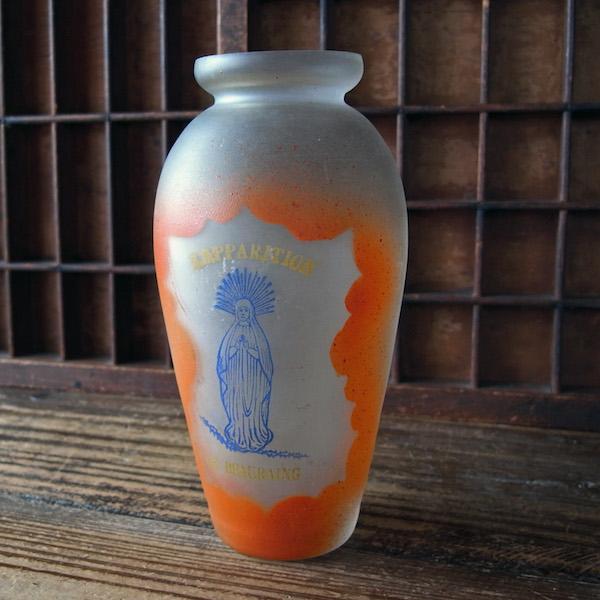画像1: 聖母マリアのガラスの花瓶