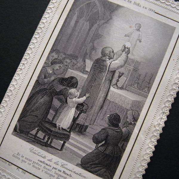 画像1: 祭壇の幼子イエスのカニヴェ(見開き)