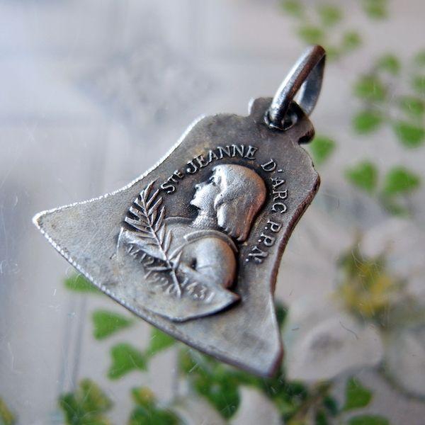 画像1: 聖ジャンヌダルクの鐘のメダイ