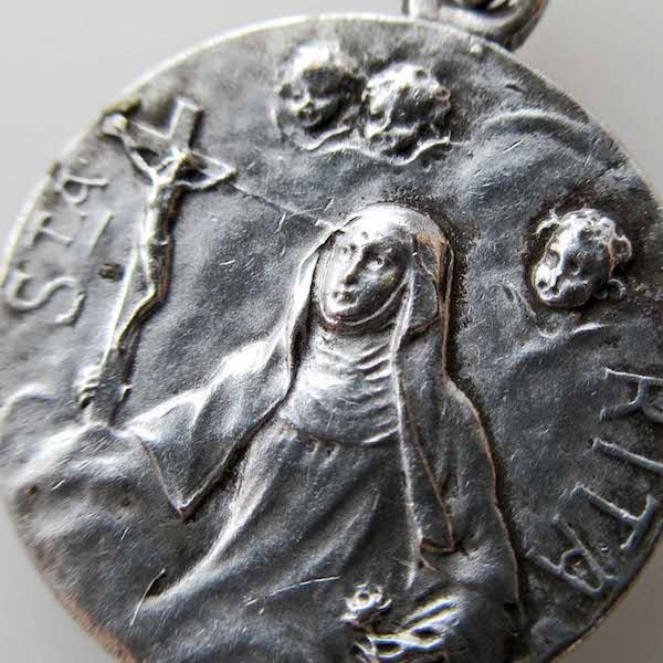 画像1: 聖女リタのメダイ