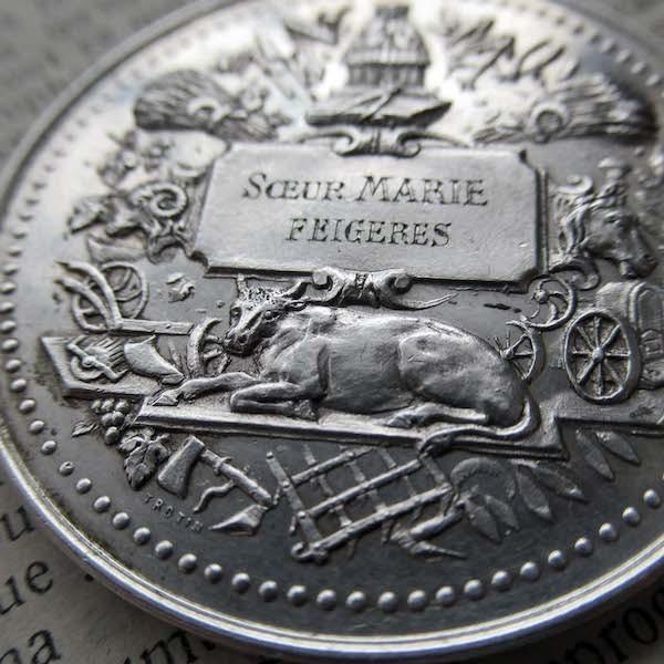 画像1: 1903年のシルバー製記念メダル