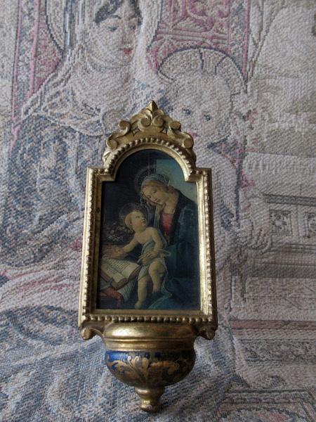 画像1: 書物の聖母の聖水盤(ボッティチェリ)
