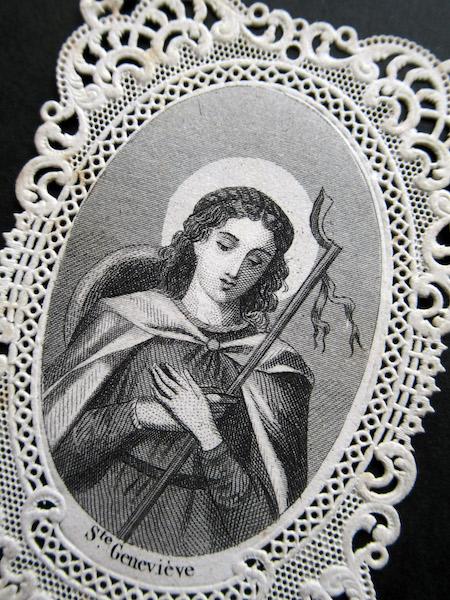 画像1: 19世紀のカニヴェ(聖女ジェヌヴィエーヴ)