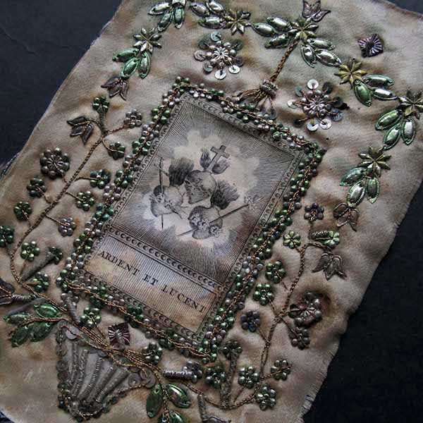 画像1: 3つの御心のシルク布