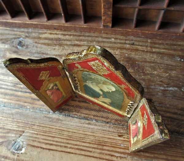 画像: 聖母と二天使の扉付き祭壇(フィリッポ・リッピ)