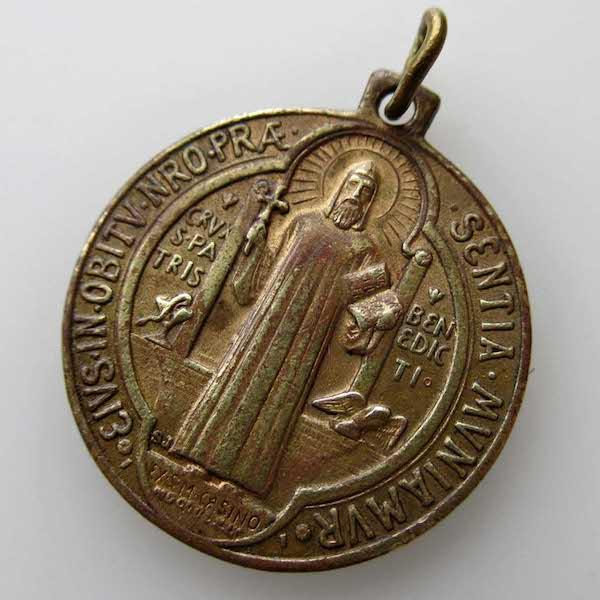 画像: 聖ベネディクトのメダイ