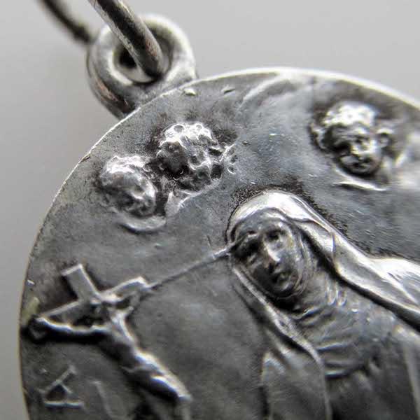 画像: 聖女リタのメダイ